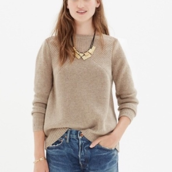 9bec8a1fe23 Madewell Sweaters - Madewell Assembly pullover in Natural size Small